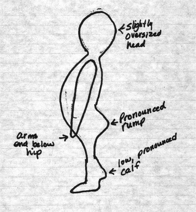 Markham Monster Sketch
